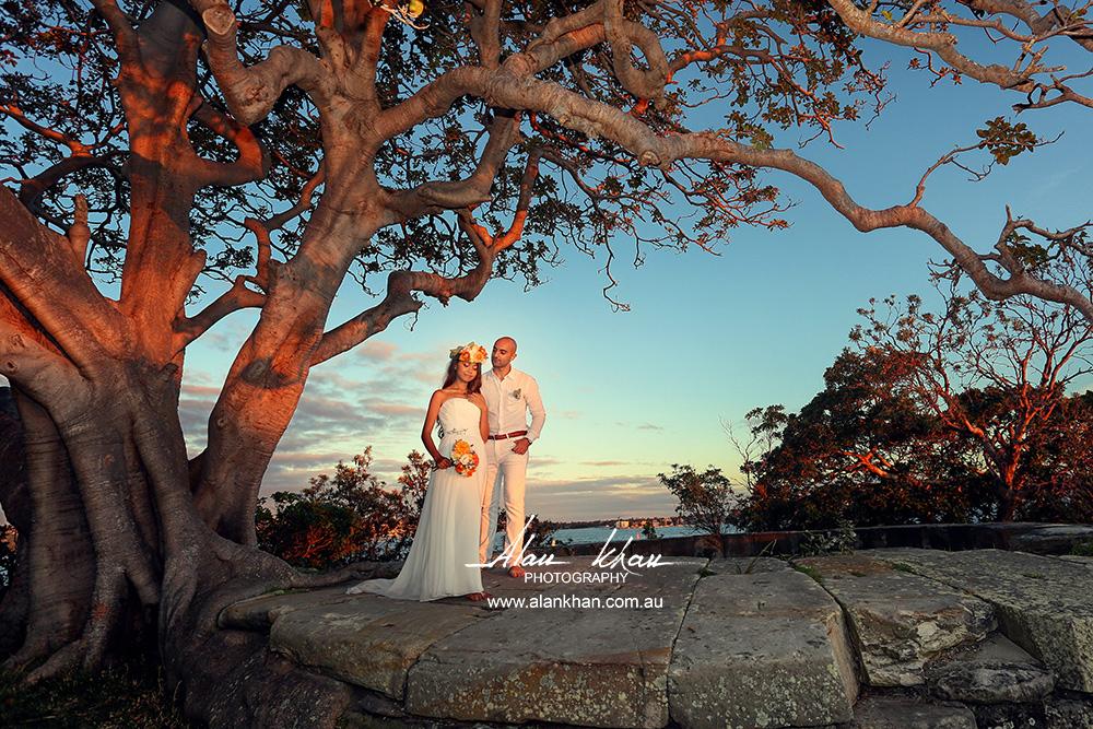 Arash & Eaindray Sydney Wedding, Beach Wedding Ceremony At